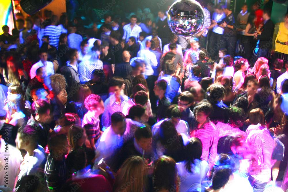Fototapety, obrazy: discoteca