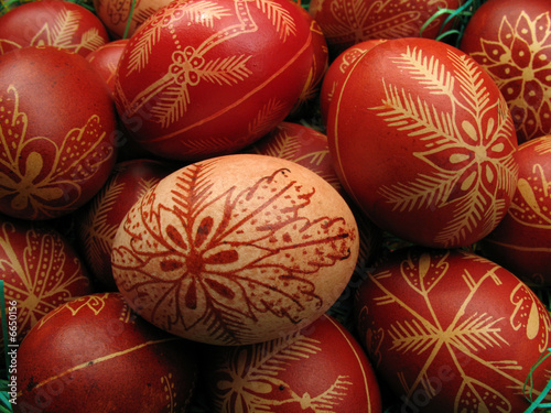 Photo Stands South America Country easter eggs