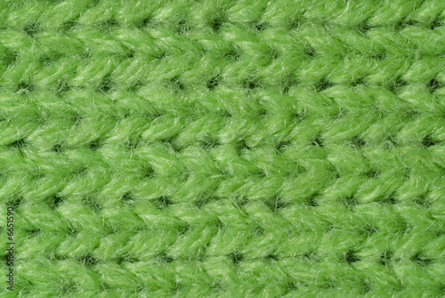 Wall Murals Forest Green knitted wool close up