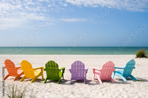 Poster Strand Summer Vacation Beach