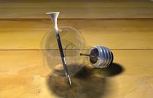 Nail In Lamp