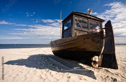 Foto-Kissen - altes boot (von Steffen Eichner)