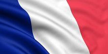 Rendered French Flag
