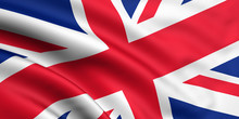 Rendered Union Jack