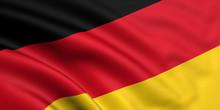 Rendered German Flag