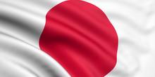Rendered Japanese Flag