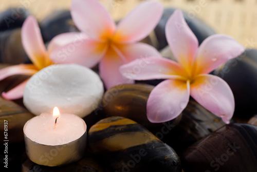 Doppelrollo mit Motiv - Aromatherapy and spa relaxation