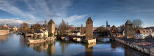 The Confluence Of The Various Arms Of The Ill River, Strasbourg.