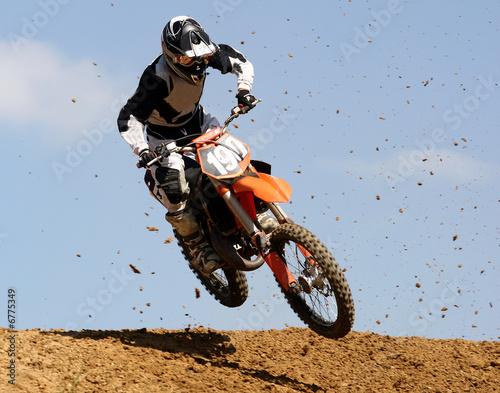 Tuinposter Motorsport Motocross