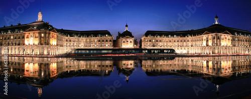 Fotografia  Place de la Bourse à Bordeaux - Gironde