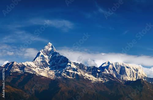 Wall Murals Nepal Mountain view