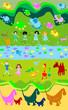 children playing, kids world