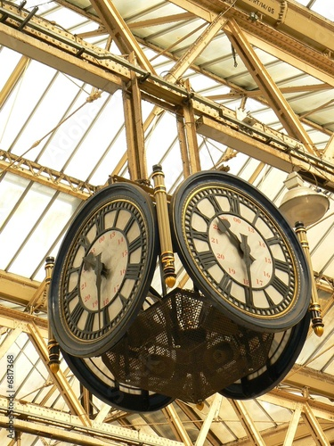 Garden Poster London Englische Uhr