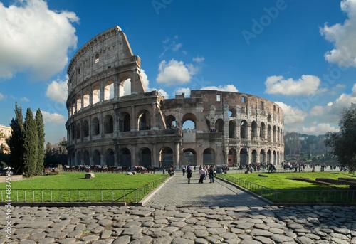 Foto-Flächenvorhang - Colosseo, Roma (von fabiomax)