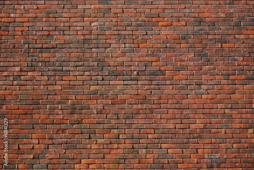 Foto auf Gartenposter Ziegelmauer Brick wall background 1