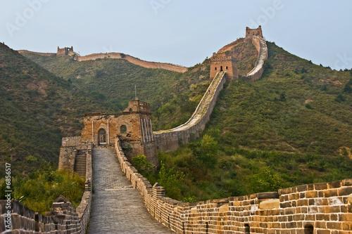 Fototapeta Along the wall