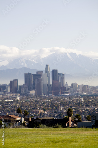 Downtown Los Angeles 5 Canvas Print