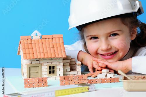 Fotografía  house under construction