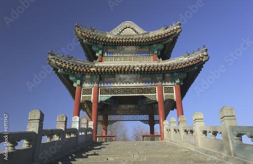 In de dag Beijing Summer Palace in Peking