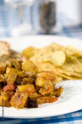 Foto op Aluminium Kip Simple indian meal