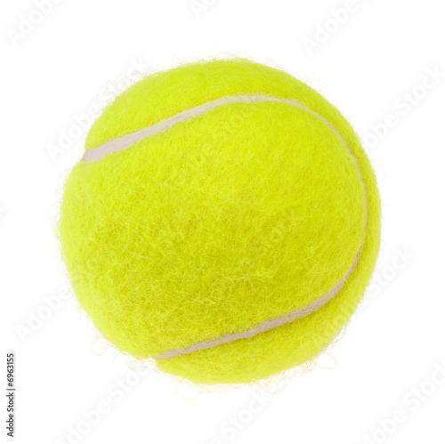 Fotografie, Obraz Tennis ball cutout