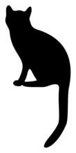 Cat Silhouette 2