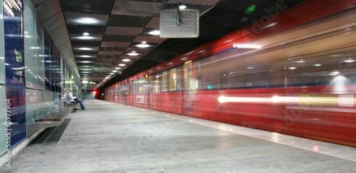 Foto auf AluDibond Bahnhof Oslo underground