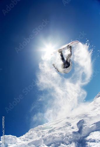Fotografie, Obraz  Snowboard