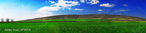 Foto op Plexiglas Groene Landscape panoramic 5