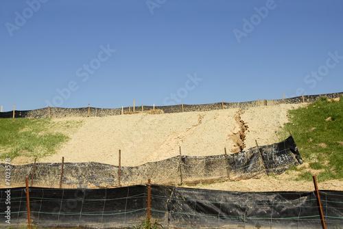 Obraz na płótnie Erosion Control