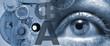 canvas print picture - Augenoptik