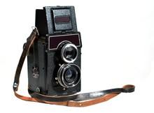 Vintage TLR A Camera For An Medium Format