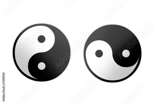 Photo  ying yang