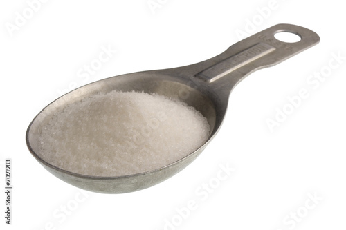 Vászonkép  tablespoon of salt