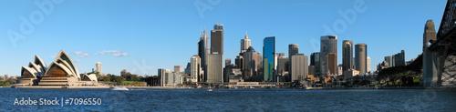 Printed kitchen splashbacks Australia Sydney Skyline panorama