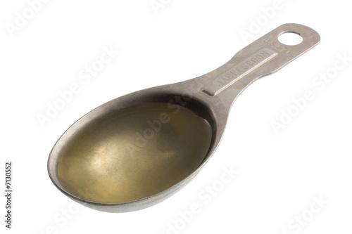 Valokuvatapetti tablespoon of hazelnut oil