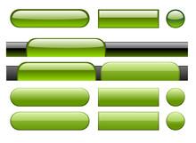 Gel Buttons - Green