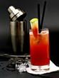 nicht alkoholischer Süße und frecher wassermelonensaft