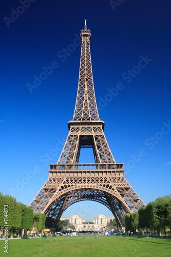 Foto-Kassettenrollo premium - Tour Eiffel (von Luc Lombarda)