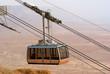 Cable car in Masada National park, Israel