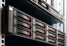 Rack-mounted Disk Array