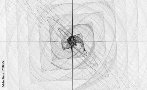 Obraz premium streszczenie czarno-biały projekt