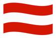 österreich austria fahne welle