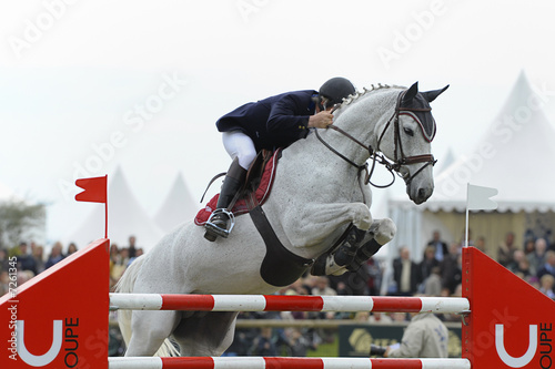La pose en embrasure Equitation jumping14