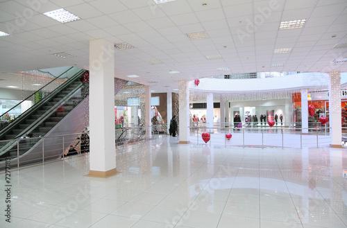 Obraz na płótnie commercial center