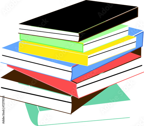 Pile De Livres Buy This Stock Illustration And Explore