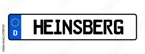 Photo kennzeichen heinsberg