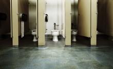 One Clean Bathroom Stall