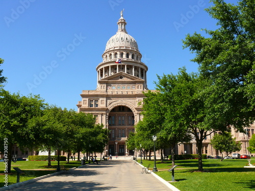 Poster Texas Texas State Capitol