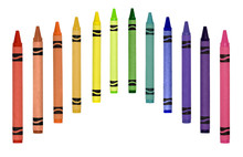 Crayons In A Row